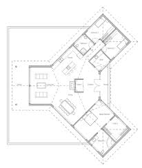 Free Floor Planning Modern House Plan With High Vaulted Ceiling And Open