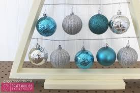 DIY Christmas Ornament Display Tree Tutorial CA