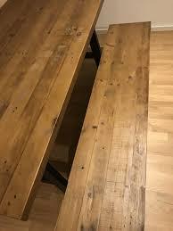 esstisch und bank aus pinienholz home24