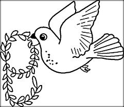 Flying Birds Coloring Pages For Kindergarten