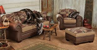 Image Of Rustic Style Sofa Furniture