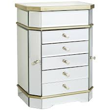 Pier One Imports Mirrored Chest by Champagne 5 Drawer Mirrored Jewelry Box Pier 1 Imports