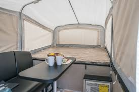 QuickSilver 6.0 Ultra Lightweight Tent Camper Floorplan   Livin' Lite
