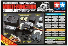 100 1 4 Scale Rc Semi Trucks Tamiya RC Multi Function Control Unit Tractor Truck MFC0
