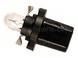 dash board instrument cluster bulb 12v 1 2w black socket
