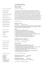 Sample Cook Resume Cover Letter Writing Guide General Great Objective Examples Line