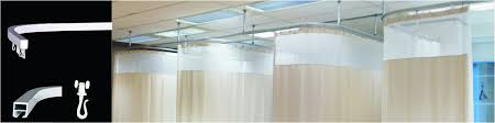 Ceiling Mount Curtain Track India by Curtain Tracks For Hospitals Drapery U0026 Curtain Tracks System For