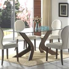 Glass Top Dining Room Table Coaster Contemporary With Unique Chrome
