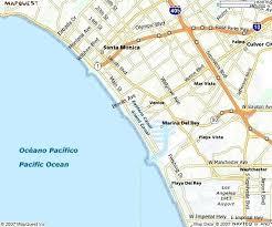 Map Of Beaches Southern Coastal Cities California Surf Beach