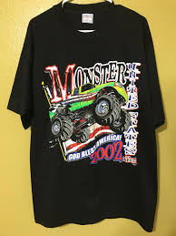 Vintage Vintage 2002 Monster Truck Tour Signed T-shirt Size Xl ... Kids Rap Attack Monster Truck Tshirt Thrdown Amazoncom Monster Truck Tshirt For Men And Boys Clothing T Shirt Divernte Uomo Maglietta Con Stampa Ironica Super Leroy The Savage Official The Website Of Cleetus Grave Digger Dennis Anderson 20th Anniversary Birthday Boy Vintage Bday Boys Fire Shirt Hoodie Tshirts Unique Apparel Teespring 50th Baja 1000 Off Road Evolution 3d Printed Tshirt Hoodie Sntm160402 Monkstars Inc Graphic Toy Trucks American Bald Eagle