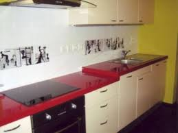 Decorating Kitchen With Red Countertop