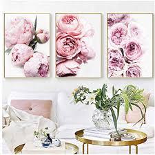 de xwwnzdq pfingstrose print floral botanical