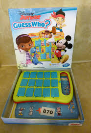 Disney Junior Guess Who Game Complete Favourite Characters
