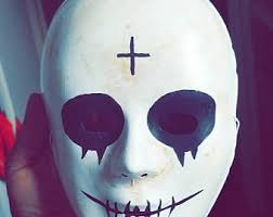Purge Anarchy Mask For Halloween by Purge Anarchy Mask Etsy