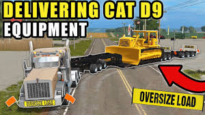 100 Heavy Haul Trucking Jobs HEAVY HAULING CAT D9 DOZER W OUR NEW TRUCKING COMPANY FIRST JOB