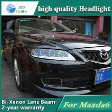 car styling l for mazda 6 headlights mazda6 led