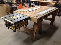 Portable Woodworking Bench Amazing Black