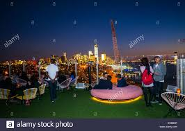 New York, NY, USA, People In Bar With Nighttime Overviews ... Roof Top Bar Mhattan Wikiwebdircom Visit These Top 10 Bars In Nyc From Rooftops To The Best Dive Rooftop In Elegrans Real Estate Blog Hudson Hotel New York Hotels Pinterest 5 City Travefy The Absolute 30birthday Grab A Drink At This Igloo Bar Travel Usa America United States North Roof Leisure Cond Nast Traveller 86 Best Around World Images On Cafes