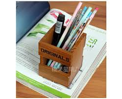 Office Desktop Stationery Zakka Wood Storage Box Small Things Can Make A Mini Cartridge Pen In Boxes Bins From Home Garden On Aliexpress