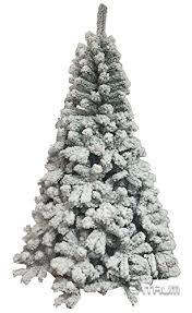 6 Ft Flocked Christmas Tree Uk by Flocked Christmas Trees At Christmasplazer