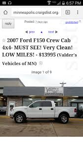 100 Minneapolis Craigslist Cars And Trucks The White Elephant Klebms Log Ford F150 Forum Community Of