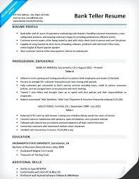 Banking Resume Sample Entry Level Samples Pattern