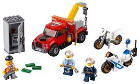 100 Police Truck Tab LEGO City Tow Trouble 60137 144 Pieces Walmartcom