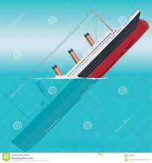 titanic clipart boat sink pencil and in color titanic clipart