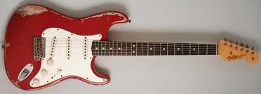 Fender Custom Shop 63 Strat Heavy Relic Dakota Red Over Firemist Gold