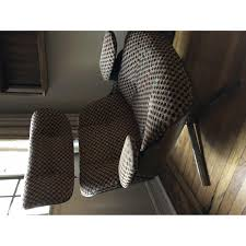 100 Modern Style Lounge Chair Mid Century Eames Ottoman AptDeco