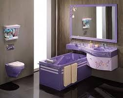 Yellow And Grey Bathroom Accessories Uk by 23 Purple Bathroom Designs Decorating Ideas Design Trends