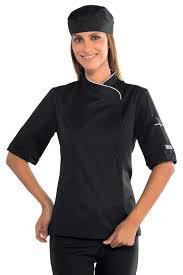 veste de cuisine homme brodé veste cuisine femme manches courtes et blanche vestes de