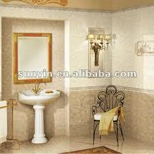 30x60cm bathroom beige flower decoration border wall ceramic tiles