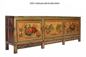sideboard antik rot grün xl