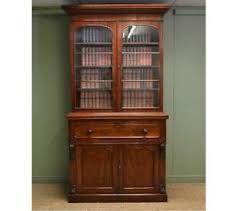mahogany bookcase ebay