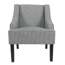 Homepop Ebony Houndstooth Black Classic Swoop Accent Chair K6499 ... Ward Bennett Bumper Office Chair In Houndstooth Brickel Associates Mesh Chairs House Decor Ocjylmb Wlbk Lombardi Midcentury Modern Adjustable With Swivel Walnut And Black By Lumisource Parlour Scotty Upholstered Accent Multiple Colors Patterened Traditional 39 Recliner Poppy Mathis Kardiel Amoeba Ottoman Azure Twill Seymour Designed Charles Wilson For King Living Copper Grove Boulogne Classic Swoop Ebony Fabric Upholstery Medium Opal Batik Capisco Ergonomic Saddle Seat Standing Desk Height Puls Base University Of Alabama Elite
