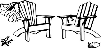 Wedding Clip Art Beach Chairs
