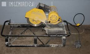 Qep Wet Tile Saw Model 60010 by Brutus Tile Saw Model 60010 Mclemore Auction Company Llc