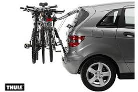 porte vélo clip on thule 9104 pour 3 vélos sur hayon à louer à