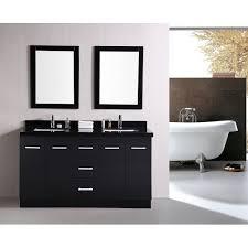 design element dec305 cosmo 60 inch double sink bathroom vanity
