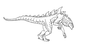 American Godzilla Coloring Pages