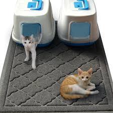 best cat litter boxes 5 best cat litter mats that prevent the spread of cat litter