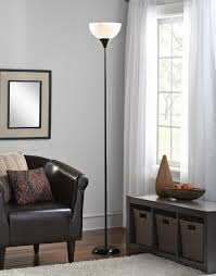 Mainstays Floor Lamp Assembly Instructions by Mainstays Black Floor Lamp With Cfl Bulb Hw F1171bk Ca Walmart Com