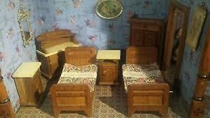tolles schlafzimmer für die antike puppenstube eur 150 00