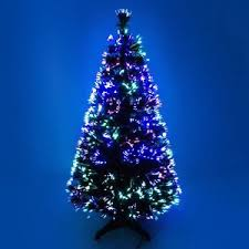 Ebay Christmas Trees With Lights by Fibre Optic Colour Changing Green Christmas Tree Xmas 2ft 3ft