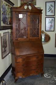 Drop Front Writing Desk by Antique Drop Front Secretary Desk With Hutch Antique Furniture