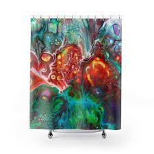 marmor boho dusche vorhänge hippie badezimmer dekor boho home decor krawatte sterben suchen dusche vorhang nach maß