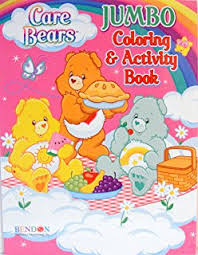 CARE BEARS COLORING ACTIVITY BOOK