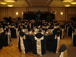 Beautiful Black And Gold Wedding Decorations 6