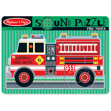 Melissa & Doug Fire Truck Sound Peg Puzzle - Squirt's Toys & Learning Co Melissa Doug Big Truck Building Set Aaa What Animal Rescue Shapesorting Alphabet What 2 Buy 4 Kids And Wooden Safari Carterscom 12759 Mega Racecar Carrier Tractor Fire Indoor Corrugate Cboard Playhouse Food Personalized Miles Kimball Floor Puzzle 24 Piece Beep Cars Trucks Jigsaw Toy Toys For 1224 Month Classic Wood Radar